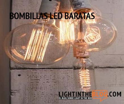 Bombillas led baratas