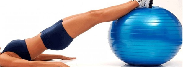 Fitball yoga