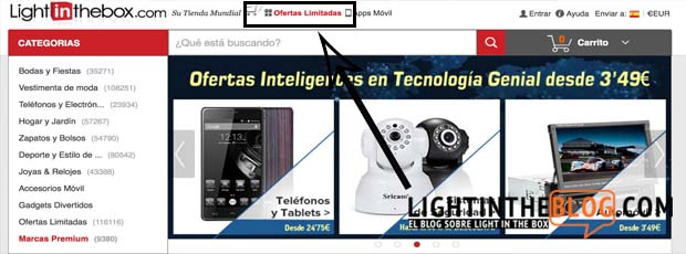 Ofertas Light In The Box