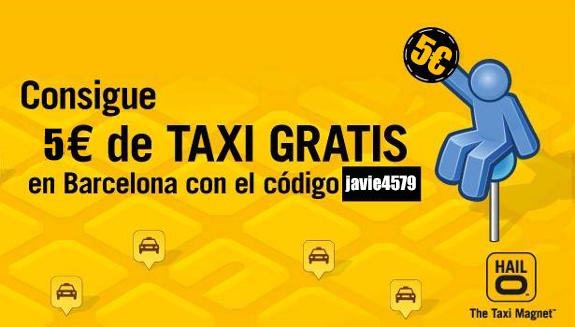 Cupon taxi gratis hailo