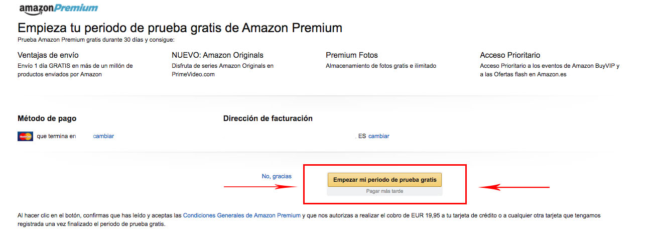 Amazon Premiun Gratis Truco
