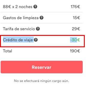 Descuento 30€ Airbnb