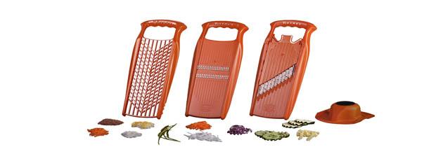 Ralladores de verduras y frutas