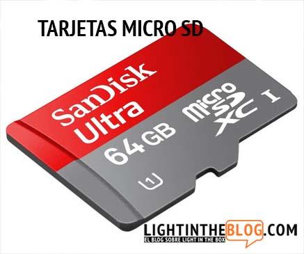 Tarjetas Micro Sd