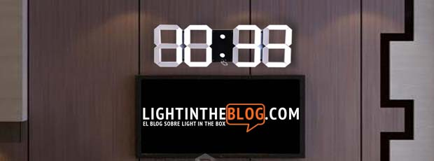 relojes led pared baratos