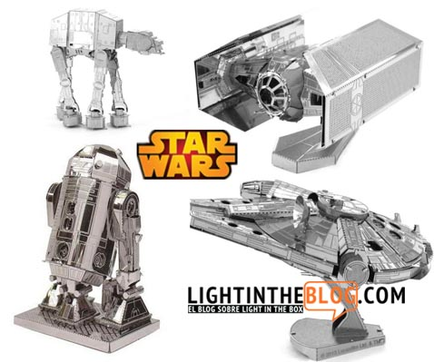 Puzzles de metal de Star Wars