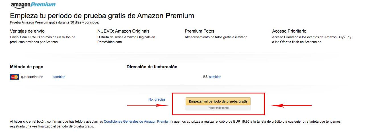 Amazon Premiun Gratis Truco